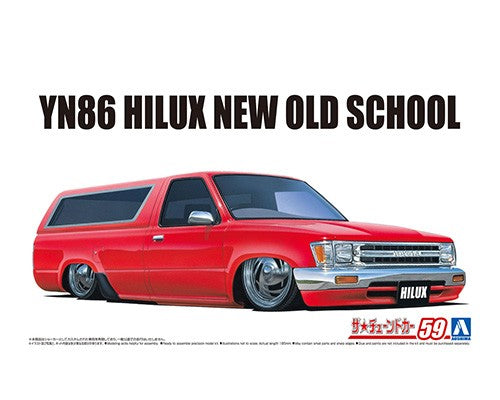 Aoshima 05700 - 1/24 YN86 HILUX NEW OLD SCHOOL '95 (TOYOTA)
