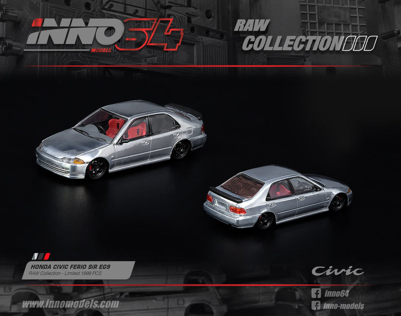 Inno Models 1/64 - Honda Civic FERIO EG9 Raw Edition