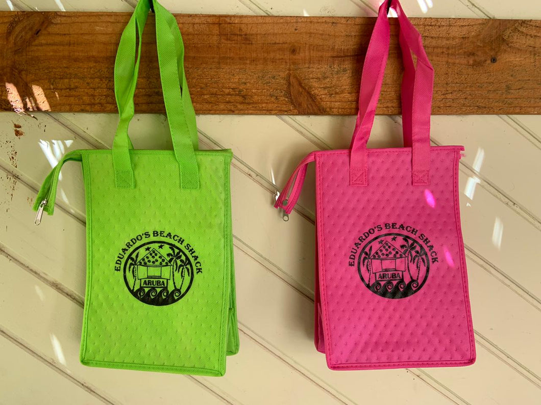 Eduardo's Beach Shack Cooler Bag Pink and Green Buy Online