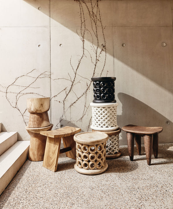 Donut Stool | Natural | Cameroon