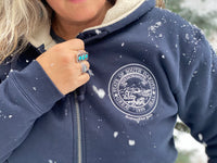 State Seal Hooded Zip Up