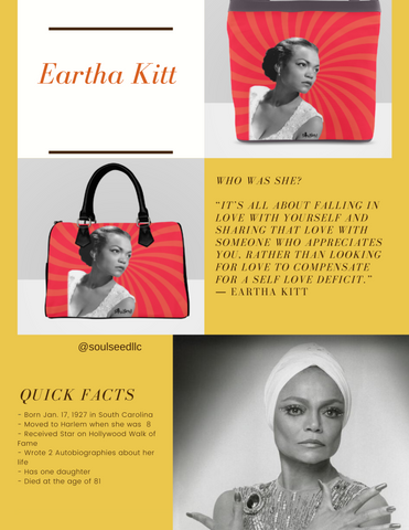 Eartha Kitt Handbag
