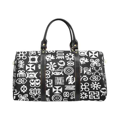 Adinkra Travel Bag (Black)