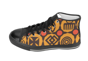 Adinkra Hi-Tops| African Fashion Shoes | SoulSeed Apparel
