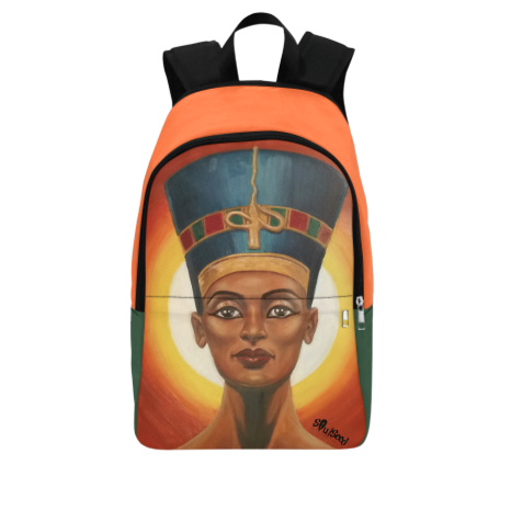 Queen Nefertiti Backpack| SoulSeed Apparel