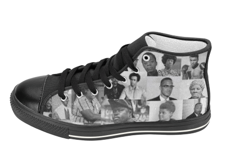 Power to the People All-Stars | Black History Sneakers | SoulSeed Apparel