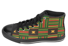 Load image into Gallery viewer, Kente Cloth Shoes | Kente Cloth Sneakers| SoulSeed Apparel