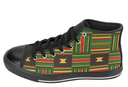 Kente Cloth Shoes | Kente Cloth Sneakers| SoulSeed Apparel