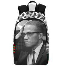 Load image into Gallery viewer, Malcolm X Backpack | Black History Apparel