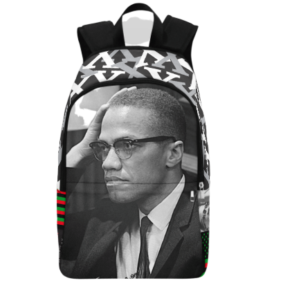 Malcolm X Backpack | Black History Apparel