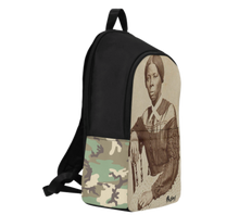 Load image into Gallery viewer, Harriet Tubman Bookbag | SoulSeed Apparel