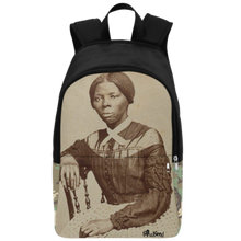 Load image into Gallery viewer, Harriet Tubman Backpack| Black History Backpacks