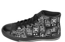 Load image into Gallery viewer, Adinkra Hi-Tops | African Fashion | Soulseed Apparel