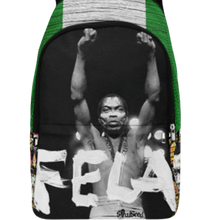 Load image into Gallery viewer, Fela Kuti Backpack| Afrobeat Apparel