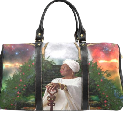 Maya Angelou Duffel bag| SoulSeed Apparel