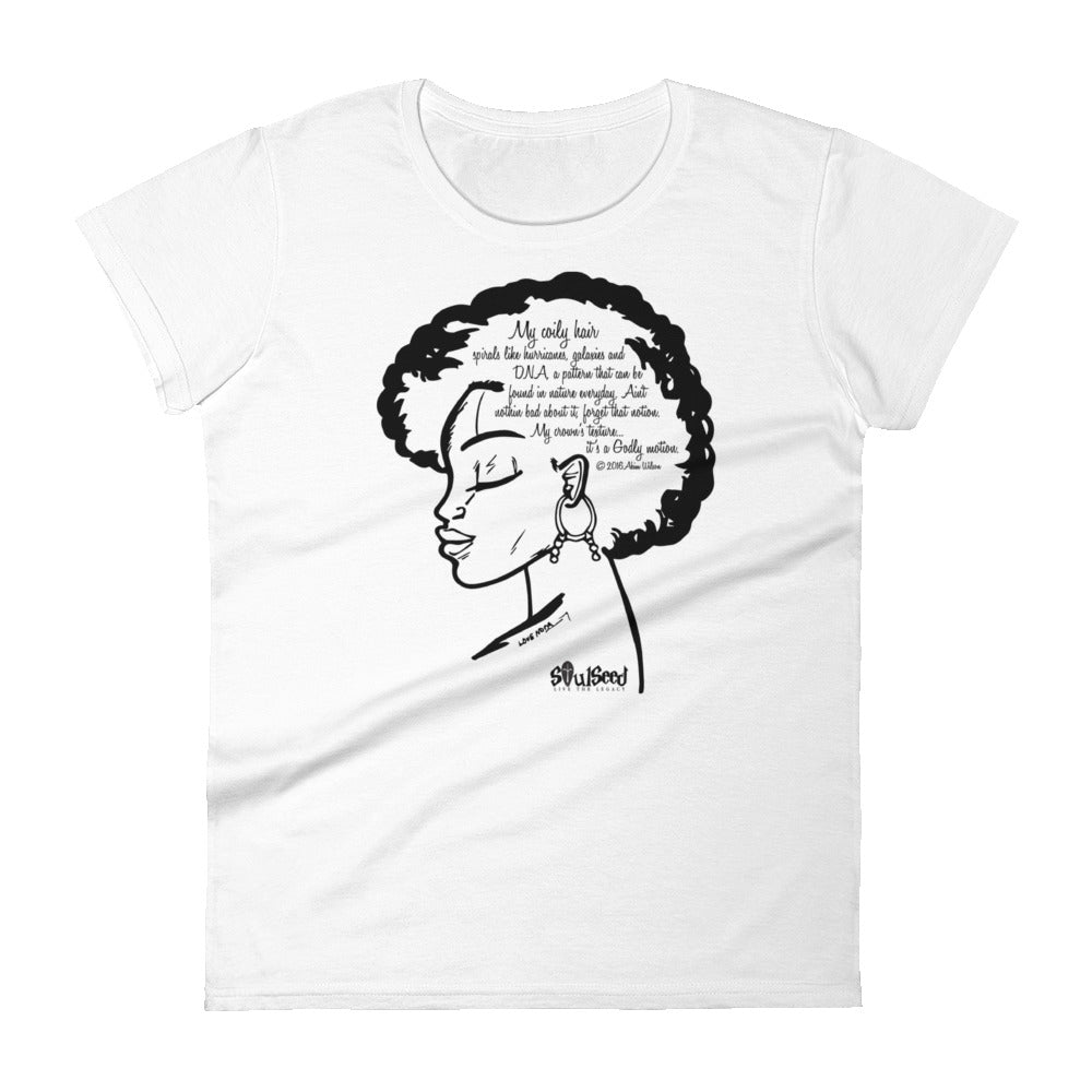 Coily Hair T-shirt