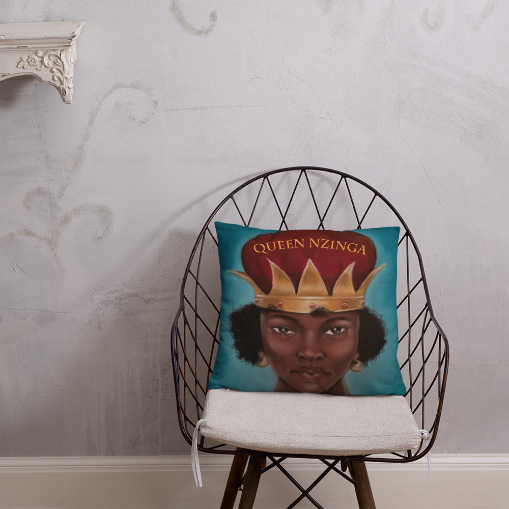 Queen Nzingha  Pillow