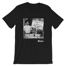 "Load image into Gallery viewer, First Woke Person on TV ""Michael Evans"" T-Shirt"