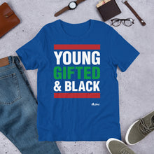 Load image into Gallery viewer, Young Gifted & Black Tee