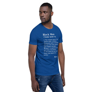 Definition of a Black Man T-Shirt
