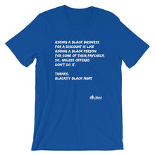 Load image into Gallery viewer, Black Business Etiquette T-Shirt