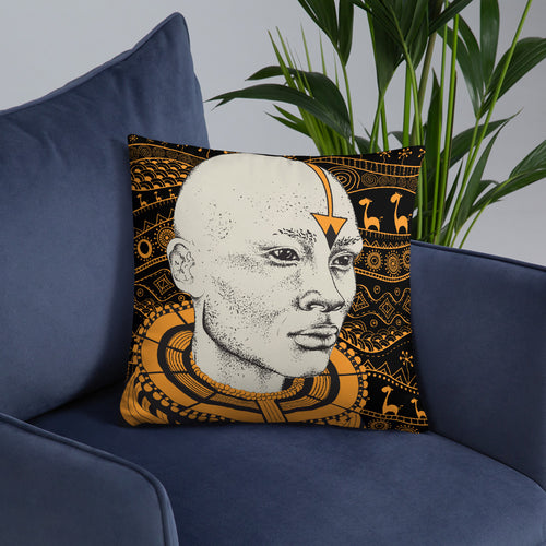 Massai Warrior Pillow