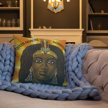 Load image into Gallery viewer, Queen Ahmose Nofretari Pillow