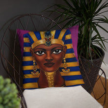 Load image into Gallery viewer, Queen Hatshepsut Pillow