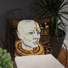 Load image into Gallery viewer, Massai Warrior Pillow