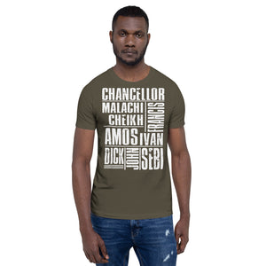 Master Teachers T-Shirt| African American Scholars| Soulseed Apparel