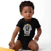 Load image into Gallery viewer, i'm a king onesie| King onesie| soulseedapparel