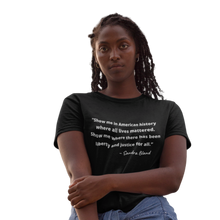 Load image into Gallery viewer, Sandra Bland T-Shirt| Say Her Name| SoulSeed Apparel