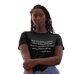 Sandra Bland T-Shirt| Say Her Name| SoulSeed Apparel