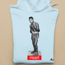 "Load image into Gallery viewer, Muhammad Ali ""Heart"" Hoodie"