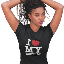 Load image into Gallery viewer, i love my brothas t-shirts| soulseed apparel