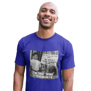 Michael Evans T-Shirt | First Woke Person on TV | Soulseed Apparel