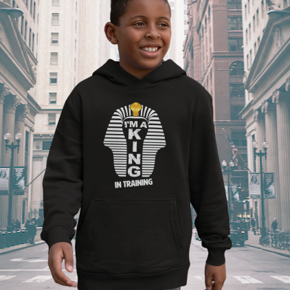 I'm a King in Training Hoodie (Boys)