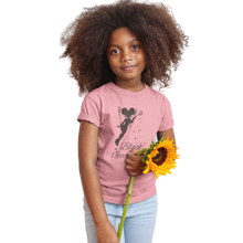 Load image into Gallery viewer, Black Girl Magic T-Shirt | Black Tinkerbell |SoulSeed Apparel