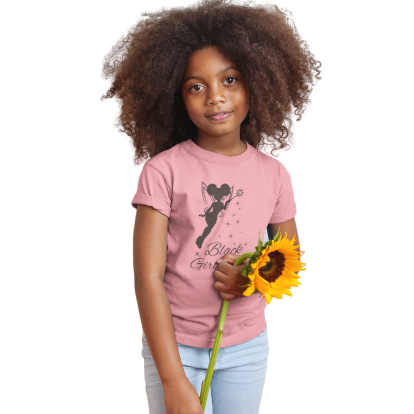 Black Girl Magic T-Shirt | Black Tinkerbell |SoulSeed Apparel