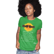Load image into Gallery viewer, africans power activate t-shirt _green