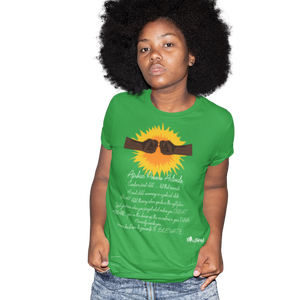 africans power activate t-shirt _green
