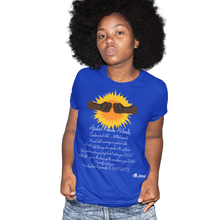 Load image into Gallery viewer, africans power activate t-shirt_blue