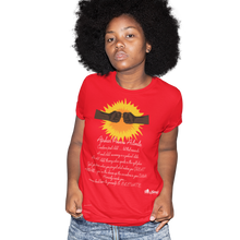 Load image into Gallery viewer, africans power activate t-shirt_red