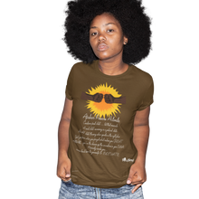 Load image into Gallery viewer, africans power activate t-shirt_brown