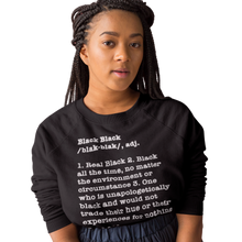 Load image into Gallery viewer, Black black sweatshirt| Black Pride T-Shirts | Soulseed Apparel