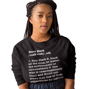 Black black sweatshirt| Black Pride T-Shirts | Soulseed Apparel