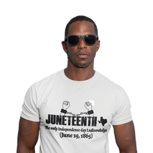 Load image into Gallery viewer, Juneteenth T-Shirt | SoulSeed Apparel