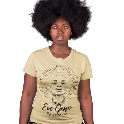 Eve GeneT-Shirt| Black Woman is God| Soulseed Apparel