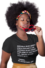 Load image into Gallery viewer, Black Business Etiquette T-Shirt| Minding my black owned business