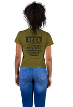 Load image into Gallery viewer, Black Queen T-Shirt | SoulSeed Apparel